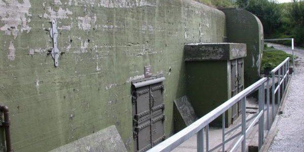 """Oorlogsmuseum """"de kazematten"""" in Kornwerderzand"""