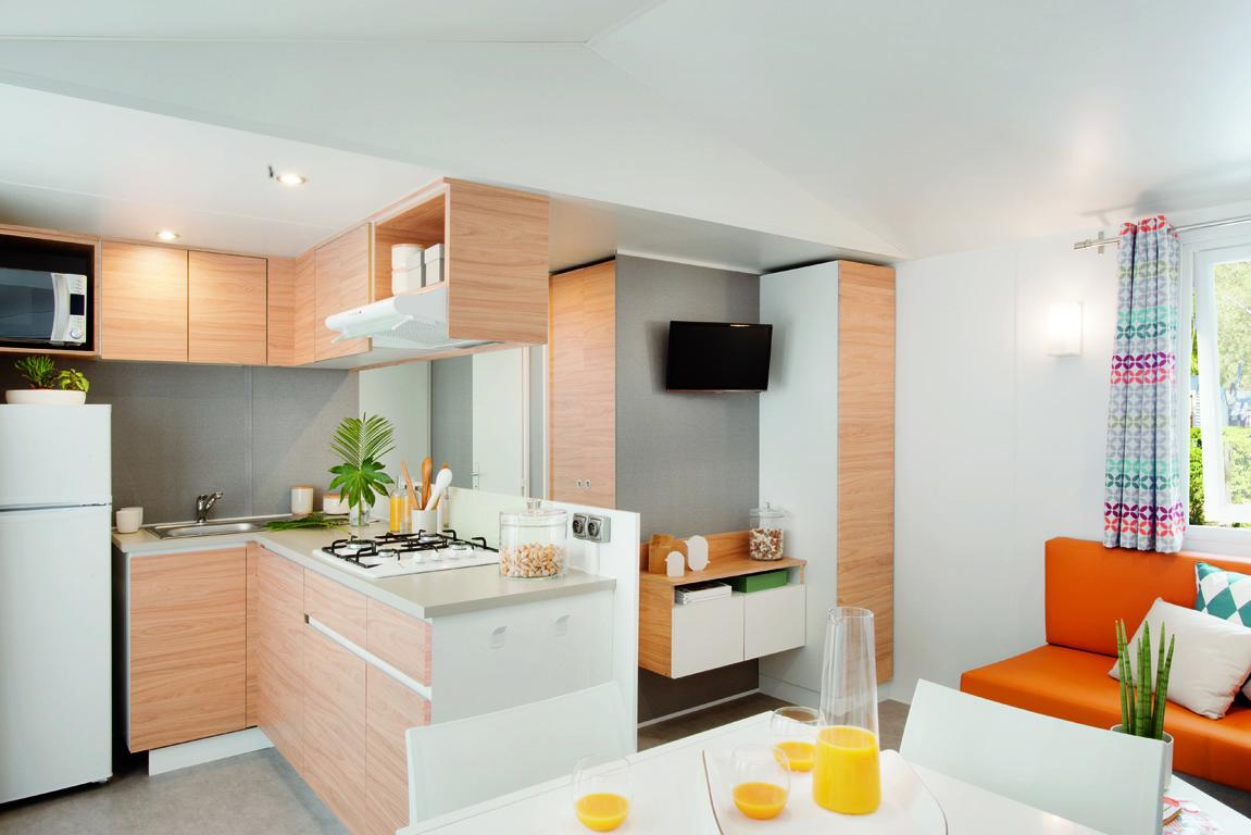 Keuken en living